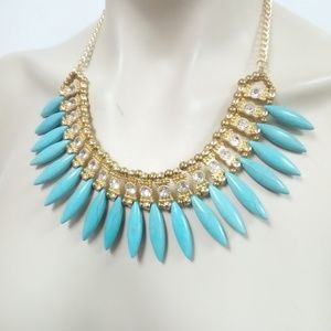 Jewelry - NWT Turquoise Howlite Necklace Set